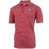 Image for Men's Athletic Logo Striped Polo Shirt