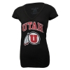 Image for Blue 84 Utah Athletic Logo Womens V-Neck