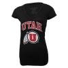 Image for Utah Utes Athletic Logo Womens V-Neck