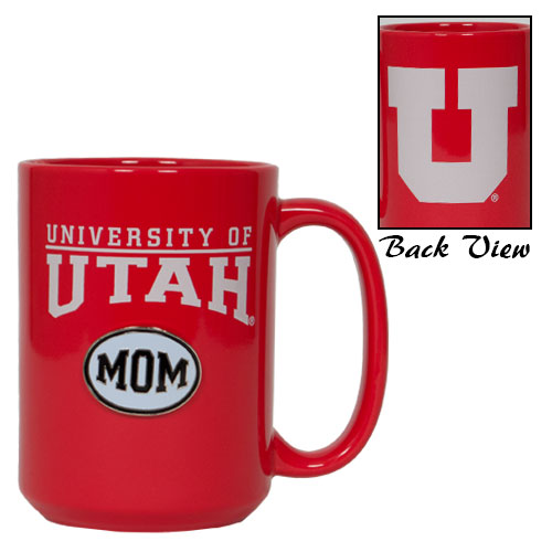 Image For University of Utah Mom Red Mug
