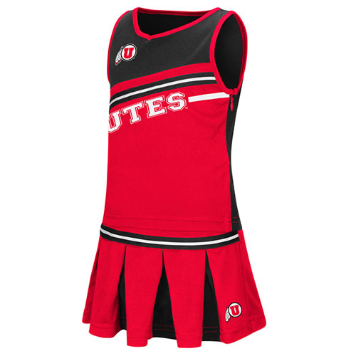 Image For Colosseum Red cheer Leading Dress Youth