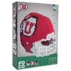 Image for Utah Utes Foco Building Blocks 3D Football Helmet