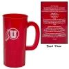 Image for Utah Fight Song Athletic Logo Plastic Mug