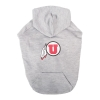 Image for Utah Utes Gray Dog Hoodie