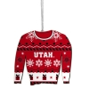 Image for Utah Ugly Sweater Ornament