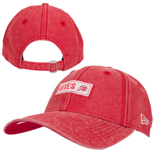 Cover Image For New Era Vintage Red UTES adjustable  Women Hat