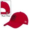 Image for New Era Women Adjustable Red Hat Glittery Interlocking U