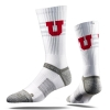 Cover Image for Utah Utes Under Armour White Cropped Tank Top