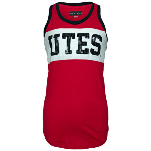 Cover Image For Women's Sequin Utes Workout Tank-Top