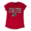 Image for Utah Utes Athletic Logo Girls Youth Tee