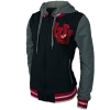 Image for Women's Interlocking U Full Zip Varsity Style Jacket