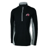 Image for Antigua Women's Athletic Logo Striped Accent Quarter Zip