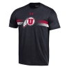 Image for Under Armour Athletic Logo Stripes Mens T-Shirt