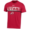 Image for Under Armour Utah Athletic Logo Mens T-Shirt
