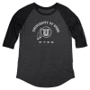 Image for Blue 84 Utah Utes Athletic Logo Womens Baseball Tee