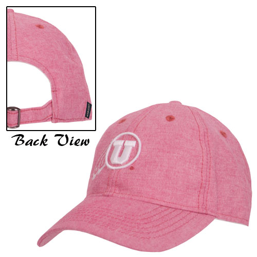 Cover Image For Legacy Athletic Logo Faded Red Adjustable Hat