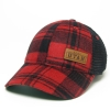 Image for Utah Utes Red And Black Flannel Adjustable Hat