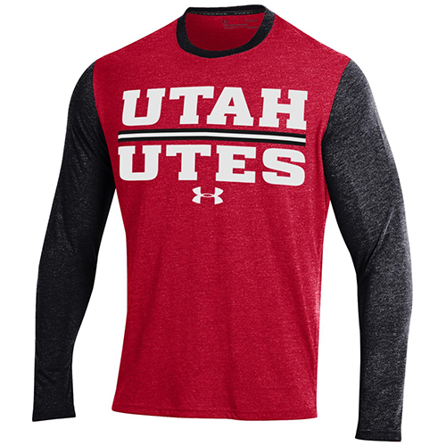Cover Image For Under Armour Utah Utes Long Sleeve Tee