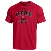 Image for Under Armour Utah Athletic Logo Golf T-Shirt
