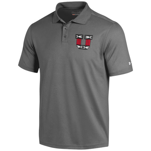 Dibuja una imagen probable hacer clic  Under Armour Block U Tribal Pattern Polo | Utah Red Zone
