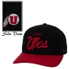 Cover Image for Colosseum Utah Utes Athletic Logo Mens Black T-Shirt