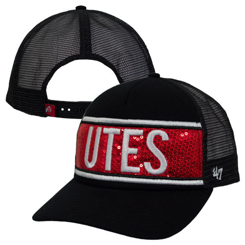 97e57665ff9 Image For 47 Brand Utes Sequins Womens Adjustable Hat with Mesh