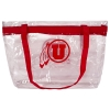 Image for Athletic Logo Clear Plastic Stadium Tote