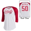 Image for Under Armour Cursive Utah Athletic logo Women Long sleeve