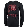 Image for 47 Brand UTES Athletic logo All Black Men Long Sleeves