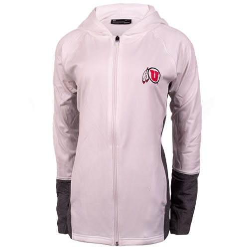 Cover Image For Under Armour Women Athletic logo Hooded Jacket