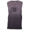 Image for Under Armour Women Gradient Grey Athletic logo Tank Top