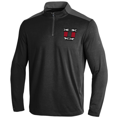 Cover Image For Under Armour Block U Tribal Pattern Loose Quarter-Zip