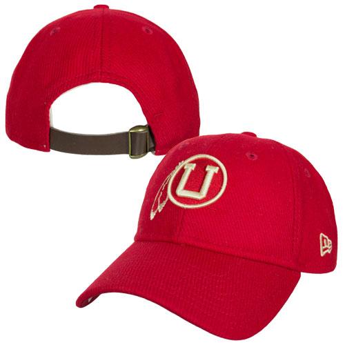 best service 0da1d 74db7 Cover Image For Utah Utes Throwback Athletic Logo Adjustable Hat