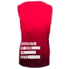 Image for Under Armour Women Red Gradient Athletic logo Tank Top