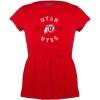 Image for Utah Utes Athletic Logo Toddler Peplum T-shirt
