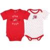Image for Utah Utes Infant Girl Athletic Logo 2-Pack Onesies