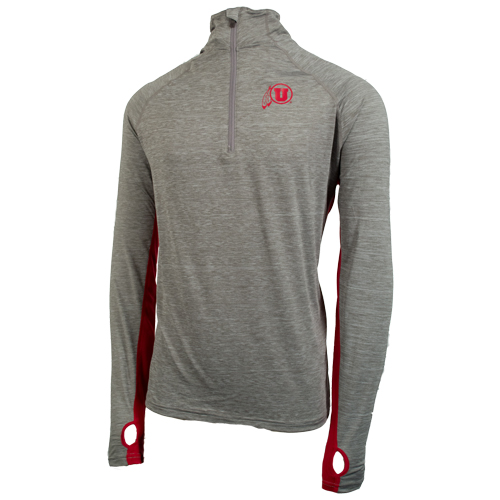 Image For Brand 47 Athletic Logo Quarter Zip