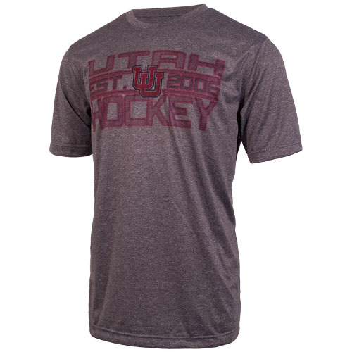 Image For Interlocking U Utah Hockey T-shirt