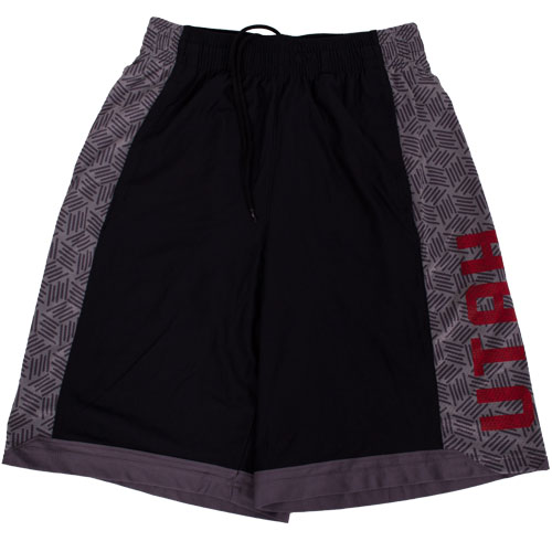Image For Under Armour UTAH Men Striped Pattern Shorts