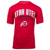 Image for Champion Utah Utes Athletic Logo Football Tee