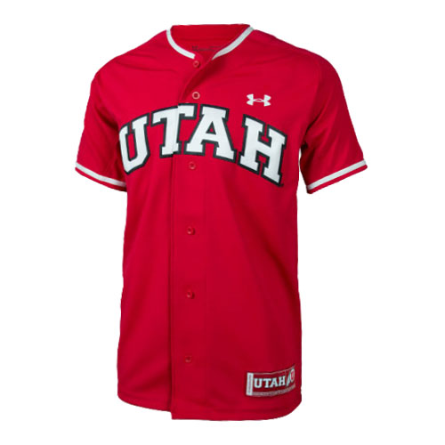 Image For Under Armour Utah Baseball Youth Jersey
