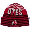 Cover Image for Red Utah Utes Athletic Logo Knit Gloves