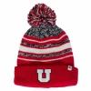 Image for Utah Utes Youth Block U Pom Pom Beanie