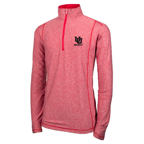 Image For Antigua Quarter Zip Interlocking U Hockey Pullover