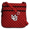 Image for Vera Bradley Interlocking U Triple Zip Crossbody Hipster