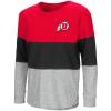 Image for Colosseum Rhinestone Athletic Logo Girls Long Sleeve T-Shirt