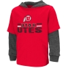 Image for Utah Utes Hooded Long Sleeve Youth Tee