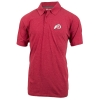 Image for 47 Brand Athletic Logo Heathered Red Polo