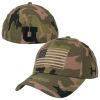 Image for Under Armour Green Camo American Flag Hat