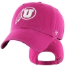 Image for Utah Utes Athletic Logo Women's Pink Hat
